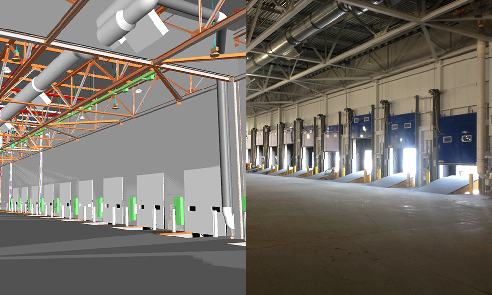 Part of Aristeo's preconstruction services include BIM, or Building Information Modeling, where we model a building's interior structures before building them out.