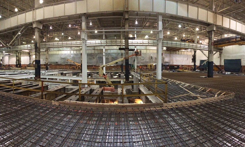 At this Construction Management job, Aristeo coordinated the design, schedule, cost, construction, and performance of the entire Ford Woodhaven Stamping Plant project.