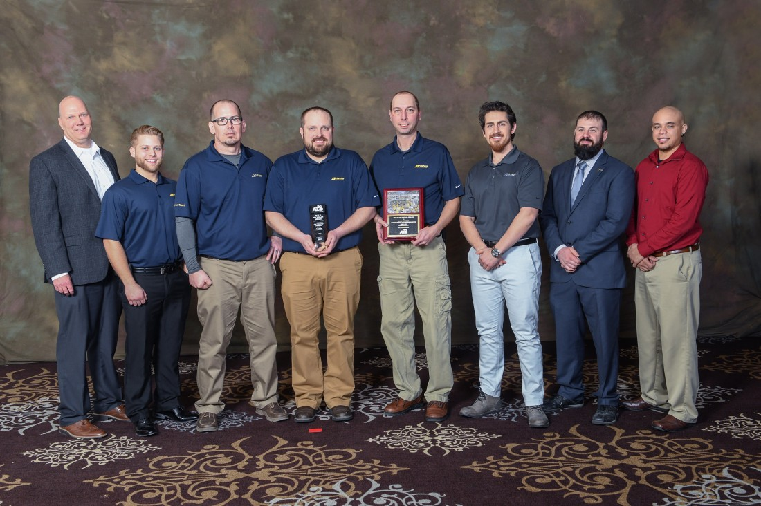 Aristeo Construction won the Build Michigan Award for our General Motors T1 Body Shop Tooling & Conveyor Installation Project.