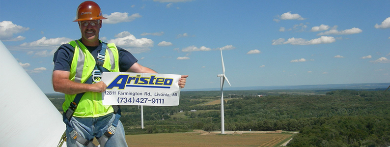 Aristeo's headquarters are at 12811 Farmington Road in Livonia, Michigan. You can reach Aristeo at 734-427-9111.