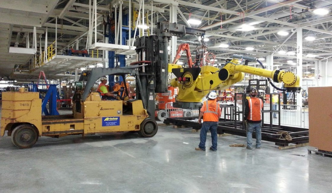 General Motors Wentzville Assembly - Manufacturing - Aristeo Construction  - GM_Wentzville_Assembly