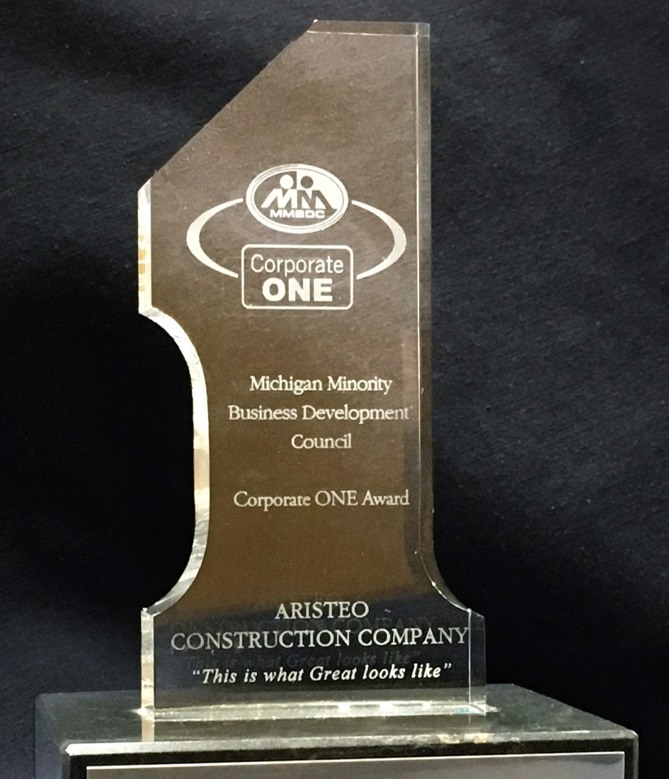 Aristeo has won the MMSDC Corporate One Award multiple years in a row, making our commitment to supplier diversity clear.