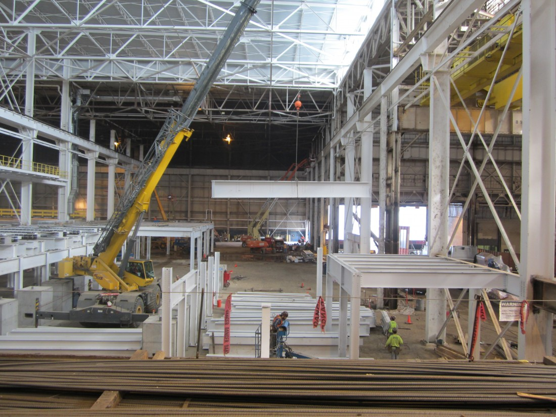Ford Dearborn Stamping - Steel Fabrication & Erection - Aristeo Construction  - IMG_1168