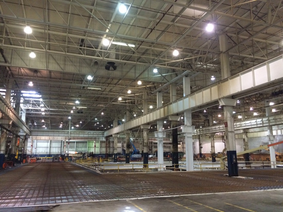 Ford Motor Company Woodhaven - Manufacturing - Aristeo Construction  - IMG_1458