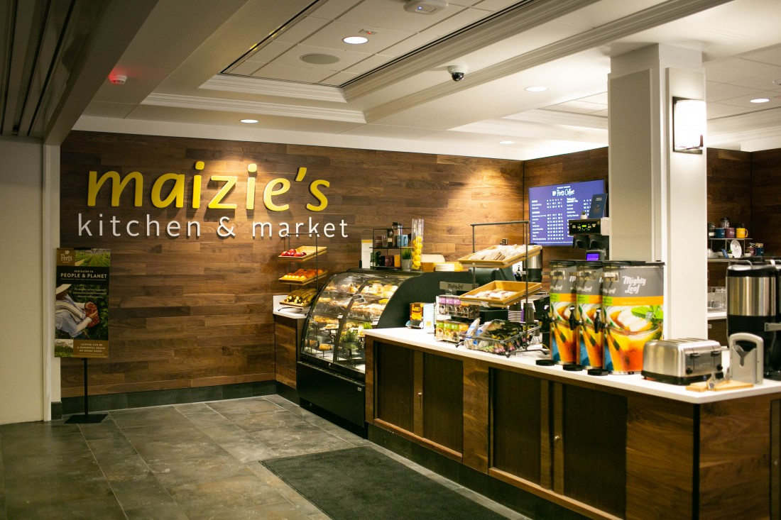 Aristeo renovated the Michigan League Maizie's Kitchen & Market for the University of Michigan in Ann Arbor, MI.