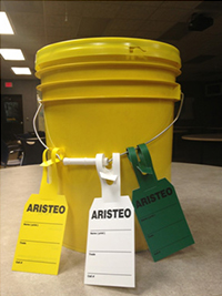 Aristeo's Safe Work Bucket allows our employees to quickly and easily spread awareness of construction safety considerations on the job.