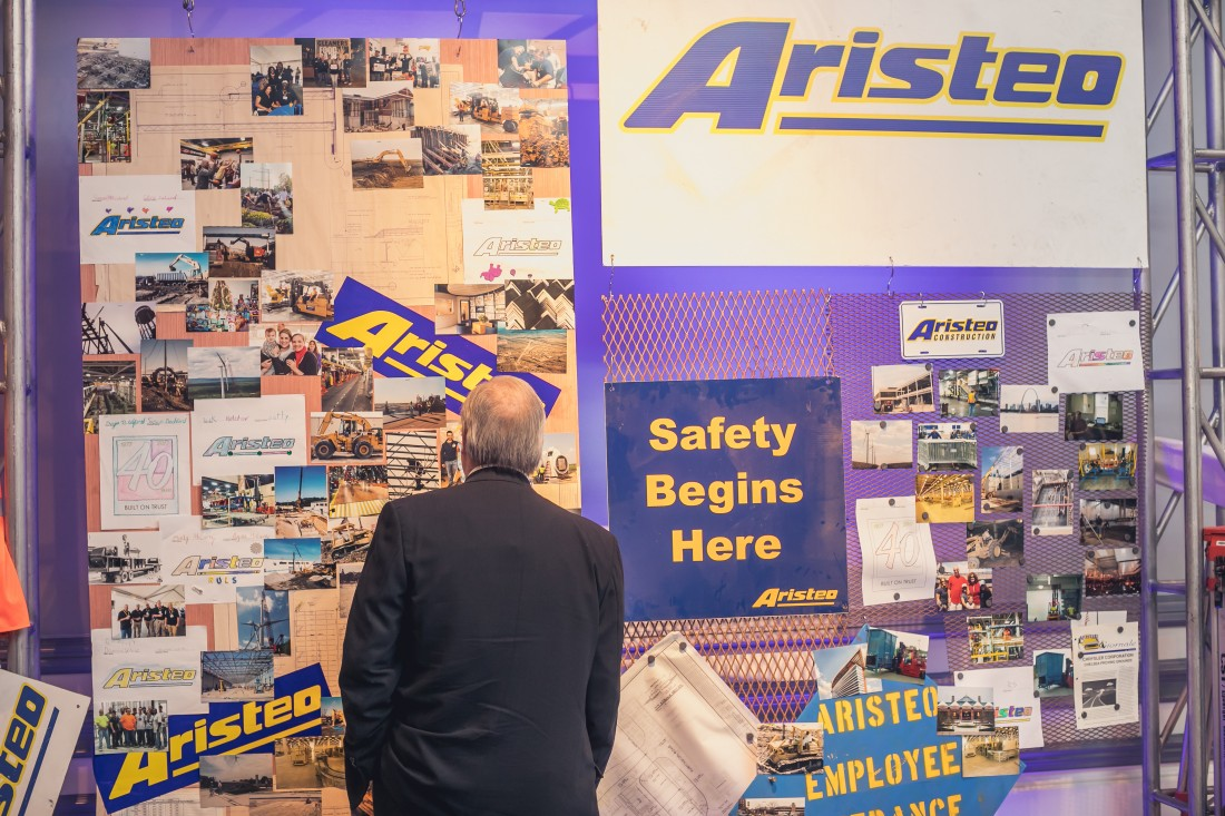 Aristeo celebrated 40 years in business in October 2017